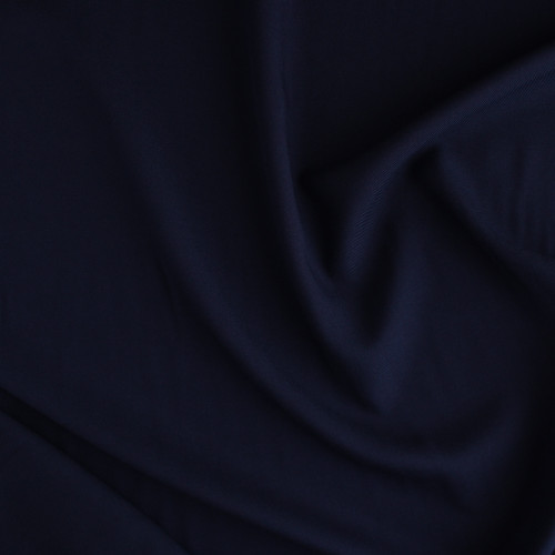 Viscose Twill - Navy | Blackbird Fabrics