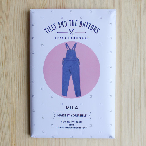 Mila Dungarees by Tilly and the Buttons | Blackbird Fabrics