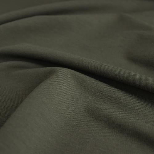 Bamboo & Cotton French Terry - Moss | Blackbird Fabrics