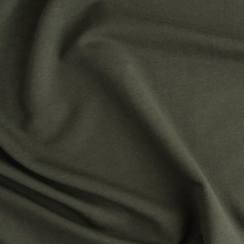 Bamboo & Cotton French Terry - Moss   Blackbird Fabrics