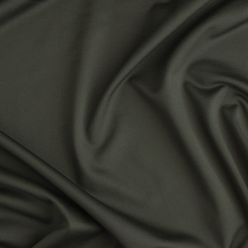 Recycled Poly Athletic Knit - Olive | Blackbird Fabrics