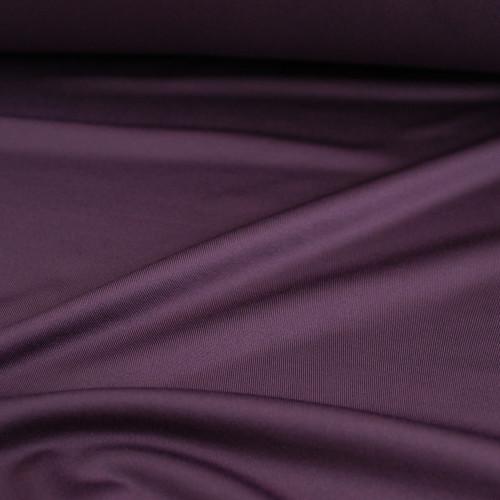 Recycled Poly Athletic Knit - Eggplant | Blackbird Fabrics
