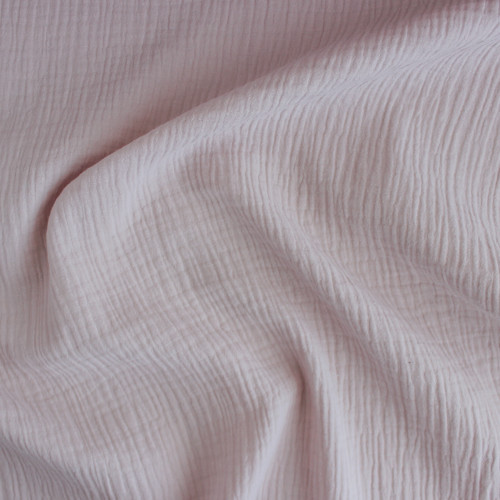 Cotton Double Gauze - Musk | Blackbird Fabrics