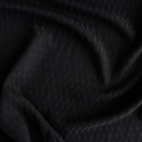 Viscose Dobby - Black | Blackbird Fabrics