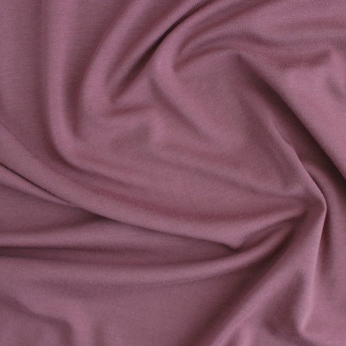 Tencel & Organic Cotton Jersey - Dusty Rose | Blackbird Fabrics
