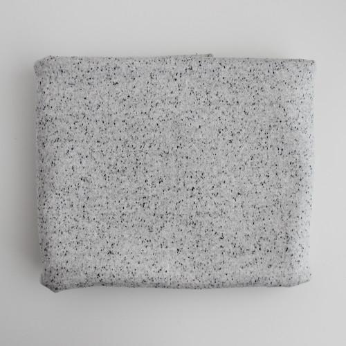 Remnant - 60cm - Moon Dust Double Knit - Ecru Speckle
