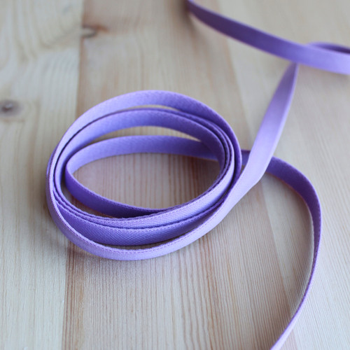 "3/8"" (9mm) Elastic Strapping - Orchid - 1 meter"