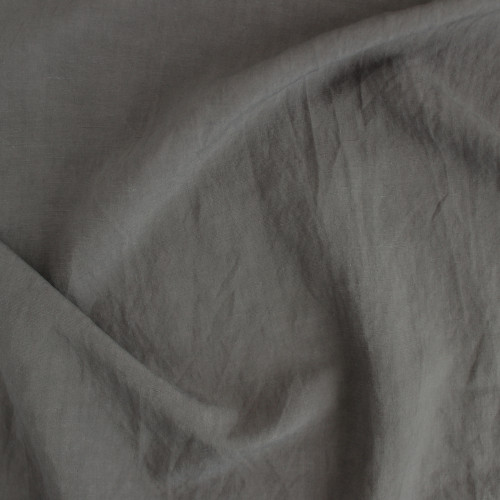Linen & Viscose Slub - Earth | Blackbird Fabrics