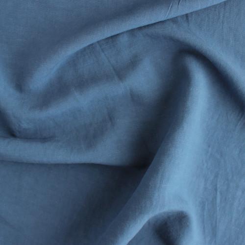 Linen & Viscose Slub - Blue Jean | Blackbird Fabrics