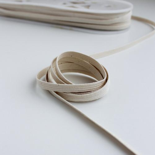 "1/4"" (6mm) Chlorine Resistant Braided Elastic | Blackbird Fabrics"