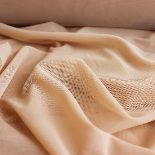 Power Mesh - Beige | Blackbird Fabrics