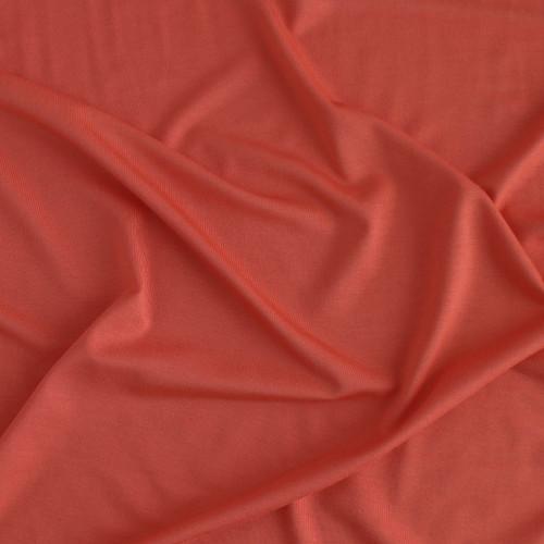Bamboo Jersey Knit - Coral | Blackbird Fabrics