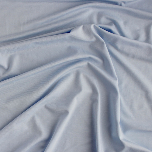 Bamboo Jersey Knit - Soft Blue | Blackbird Fabrics