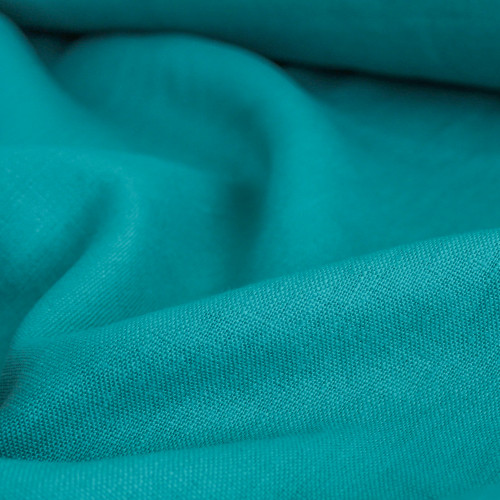 Mid-Weight Linen - Sea Green | Blackbird Fabrics