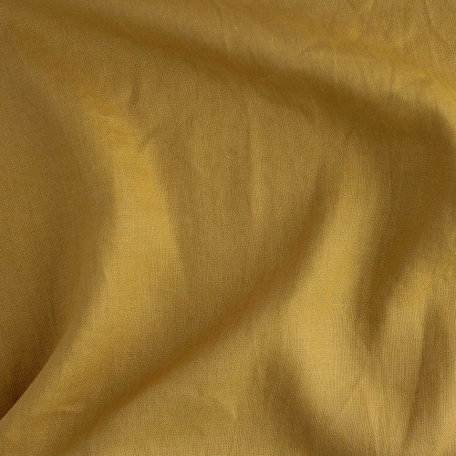 Mid-Weight Linen - Mustard | Blackbird Fabrics