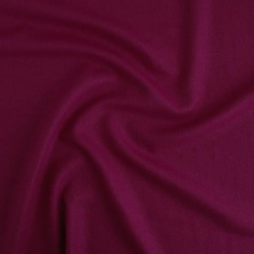 Raw Silk Noil - Berry   Blackbird Fabrics