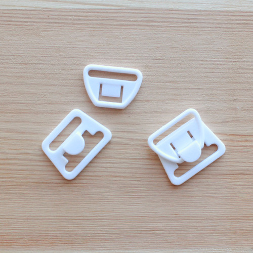 "Pair of Nursing Clips - 3/4"" (20mm) - White"