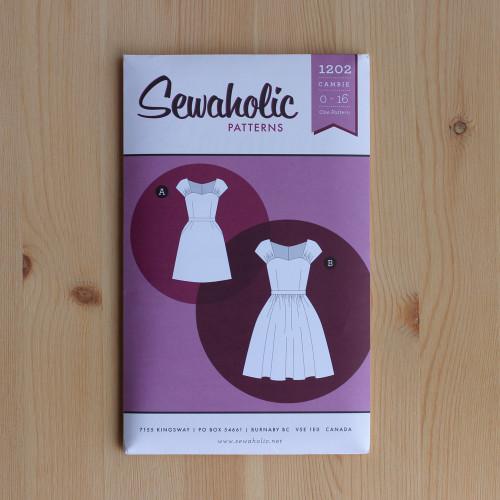 Cambie Dress Sewing Pattern by Sewaholic Patterns | Blackbird Fabrics