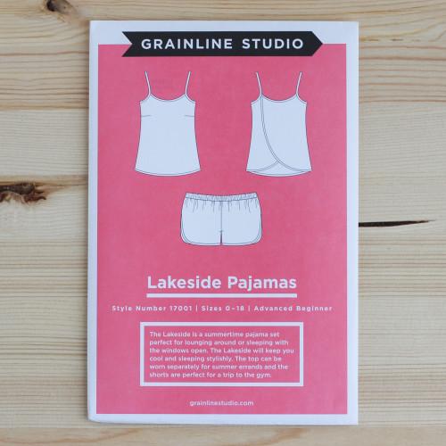 Lakeside Pajamas by Grainline Studio | Blackbird Fabrics