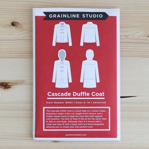 Cascade Duffle Coat by Grainline Studio | Blackbird Fabrics