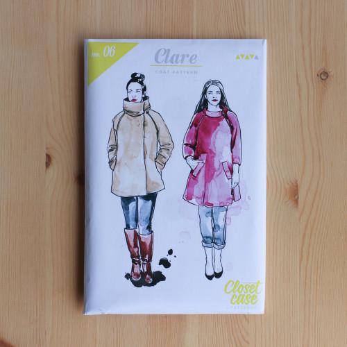 Clare Coat by Closet Case Patterns | Blackbird Fabrics