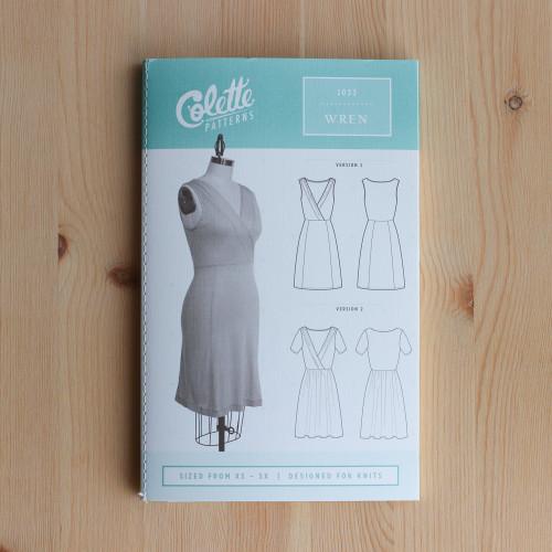 Wren by Colette Patterns   Blackbird Fabrics