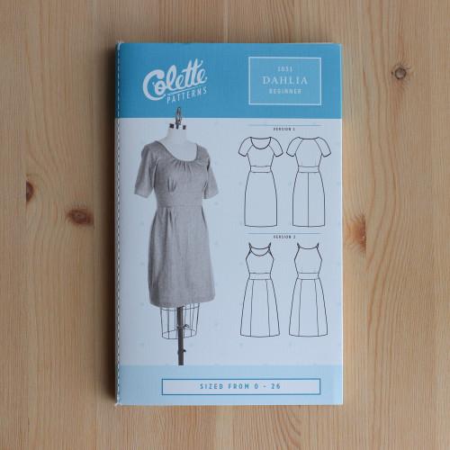 Dahlia by Colette Patterns | Blackbird Fabrics