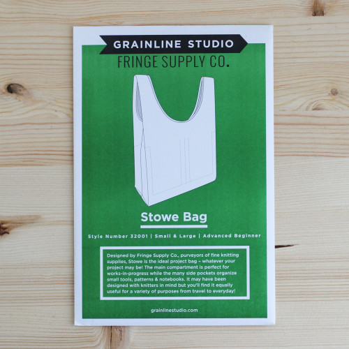 Stowe Bag by Grainline Studio | Blackbird Fabrics