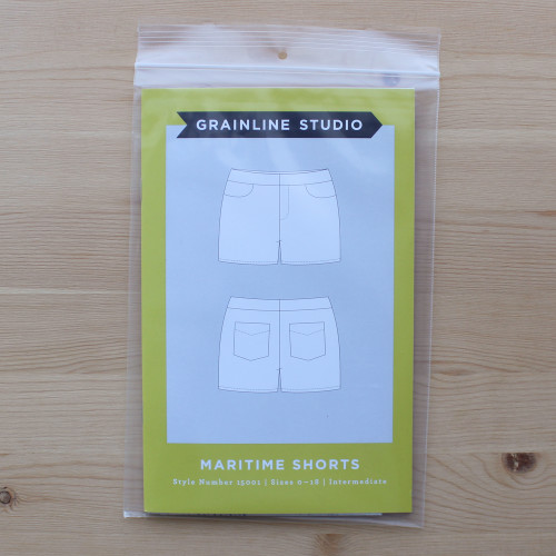 Maritime Shorts by Grainline Studio | Blackbird Fabrics