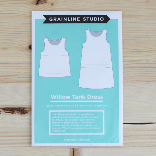 Willow Tank & Dress by Grainline Studio | Blackbird Fabrics