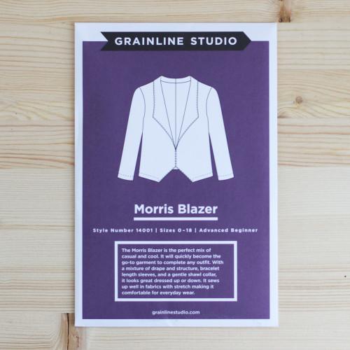 Morris Blazer by Grainline Studio | Blackbird Fabrics