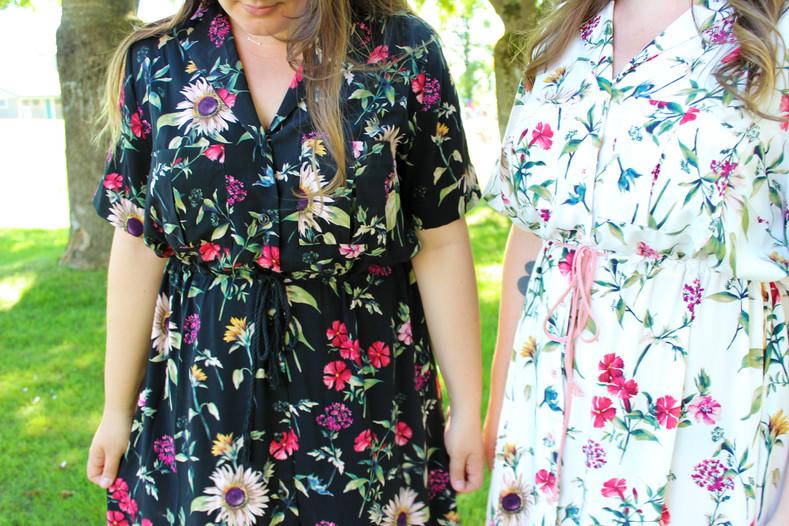 Reeta Dress in Wildflower Viscose Poplin