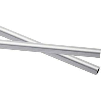 925 Sterling silver Heavy Wall Tubing, OD 3.56mm ID 2.54 | Sold by cm | 100452 |Bulk Prc Avlb