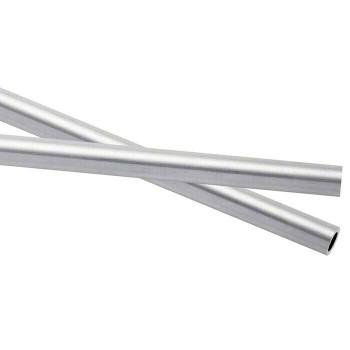 925 Sterling silver Heavy Wall Tubing OD 4.57mm, ID 3.48mm |Sold by cm| 100427 |Bulk Price Av|