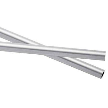 925 Sterling silver Heavy Wall Tubing, OD: 5.61mm ID: 4.34mm |Sold by cm | 100429 |Bulk Price Av