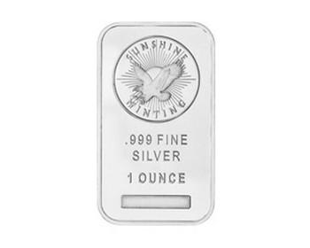 Fine Silver Ingot 1 Troy Oz | GBFSI1