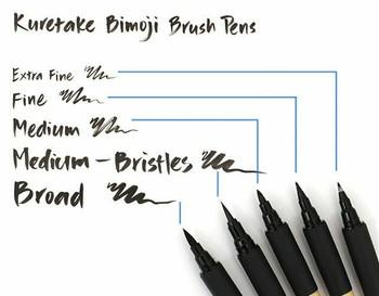 Bimoji Calligraphy Brush Pen Medium | 847340020462