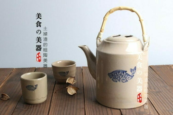 LIft Handle Fish Teapot | TDLH2