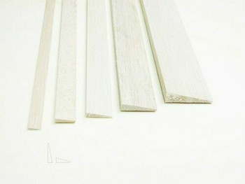 "Balsa wood, Trailing edge, 5/16 x 1 1/4 x 36"", Sold By Each | BWP3677"