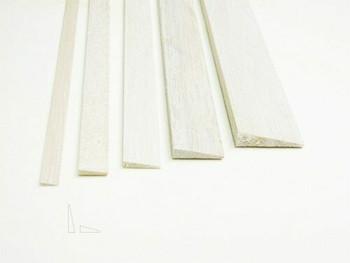 "Balsa wood, Trailing edge, 1/2 x 2 x 12"", Sold By Each   BWP1272"