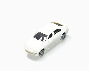 Scale Model Car   1:150 (33x12mm)   White   Sold by Pc   AM0001