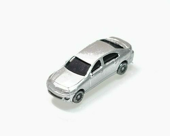 Scale Model Car   1:150 (33x12mm)   Silver   Sold by Pc   AM0003