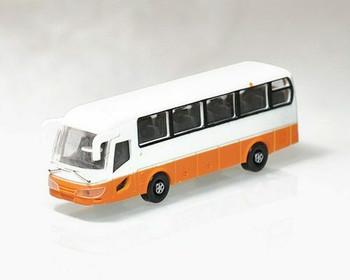 Scale Model Bus   1:100 (100x26x32mm)   Orange   Sold by Pc   AM0014