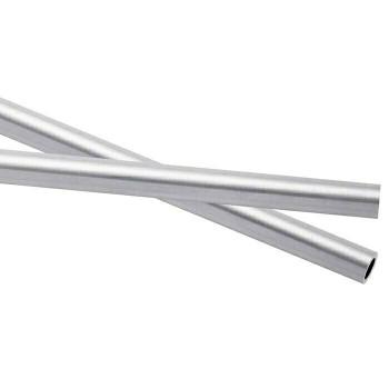 925 Sterling silver Heavy Wall Tubing OD:6.1mm ID:4.85mm | Sold by cm | 100430 |Bulk Prc Avlb