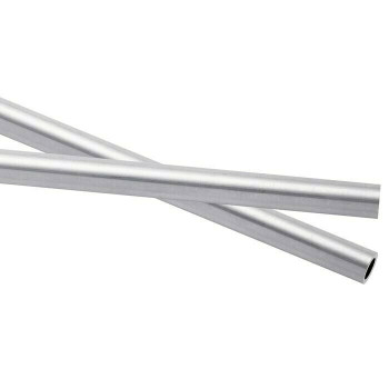 925 Sterling silver Heavy Wall Tubing,OD 7mm ID 5.7mm | Sold by cm | 100432 | Bulk Prc Avlb