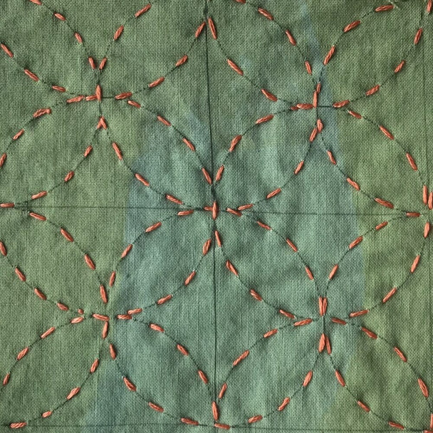 Embroidery-The Stitched Aesthetic : The Art of Repair inspired by Japanese Textiles