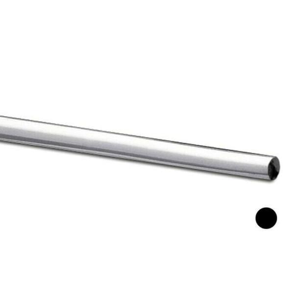 925 Sterling silver Round Wire, 18Ga(1mm) half hard |Sold by cm|Bulk Price Av| 100348