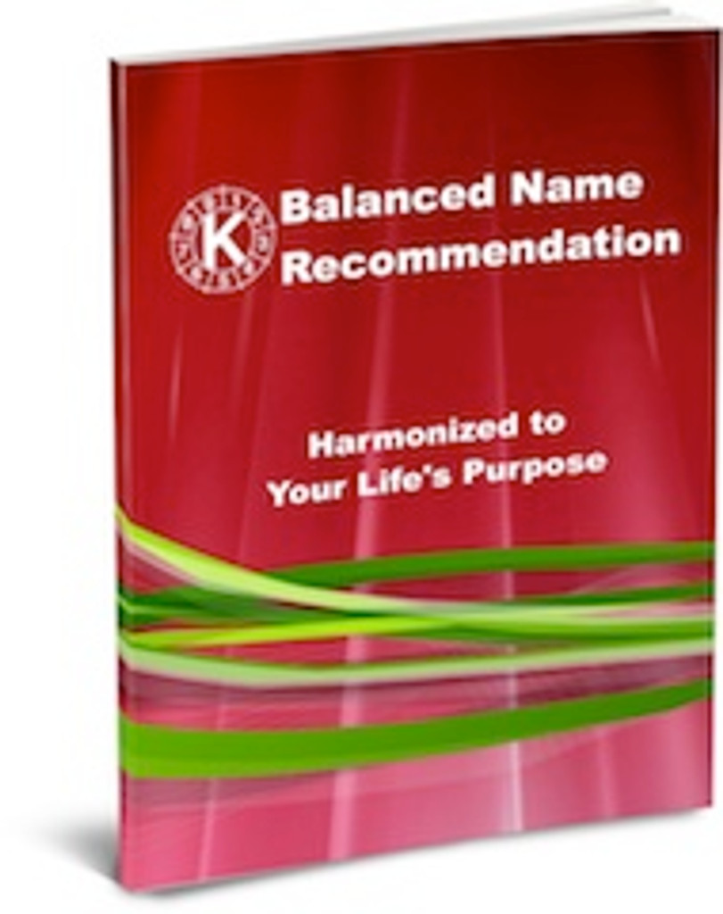 Balanced Name Recommendation - Adult - Best Choice Package with Online Course