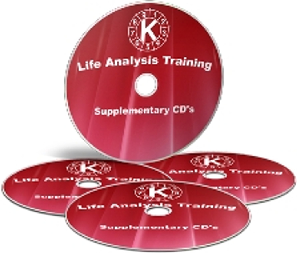 Supplementary CDs for Life Analysis Training