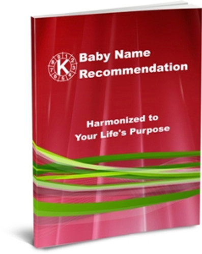 Baby Name Recommendation Package - Newborn plus 2 parents